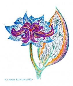 Небывалый цветок.