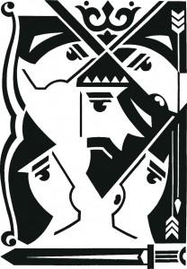 Жорж Шанаєв Ілюстрація до книги «Нартіада».