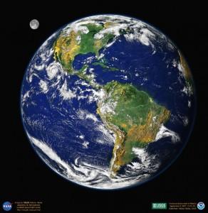 Земля из Космоса.
