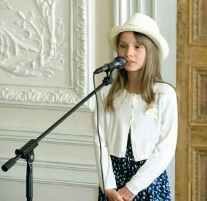 Евгения Картавая (вокал), 10 лет. «Ягодки» – 3 место - «Котя, котинька, коток».
