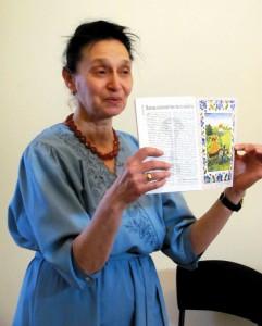 Елена Семёновна делится художественным и педагогическим опытом.