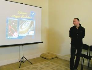 Андрей Волкович рассказал о своём творчестве, о том, как оно помогает ему в повседневной жизни.