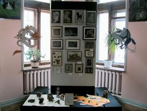 Панорама выставки. Первый зал.