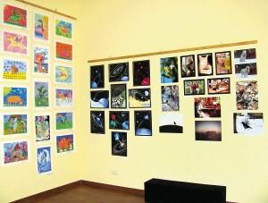 Ещё один фрагмент выставки. Второй зал.