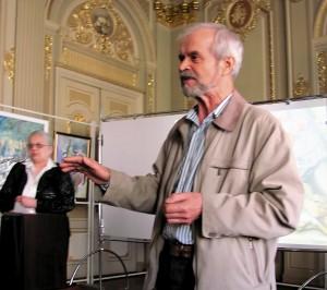 Алексей Иванович Портянников обратился к конкурсантам.