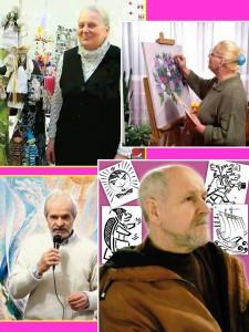 Члени художнього журі Фестивалю-конкурсу: Надія Сердюк, Софія Книш, Олексій Партянніков, Жорж Шанаєв.