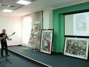 Виступ-презентація Гліба Гржабовського.