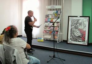 Гліб Гржабовський «Графічний погляд у буття» (Презентація художньої творчості).