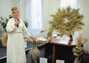 Виступ майстрині Лесі Колосенко.
