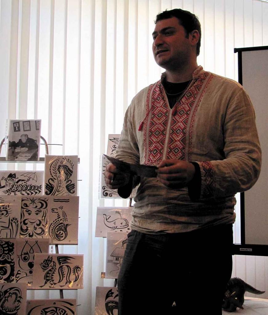 Гість із Канади Юрій Якубцов.