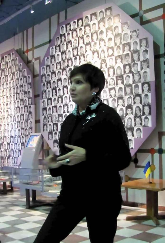 Анна КОРОЛЕВСЬКА, заступник генерального директора музею з наукової роботи, заслужений працівник культури України.