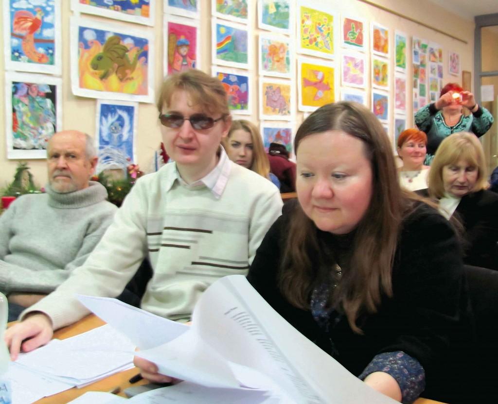 Члени журі літературного напрямку Фестивалю-конкурсу – Геннадій Горовий та Вікторія Осташ.