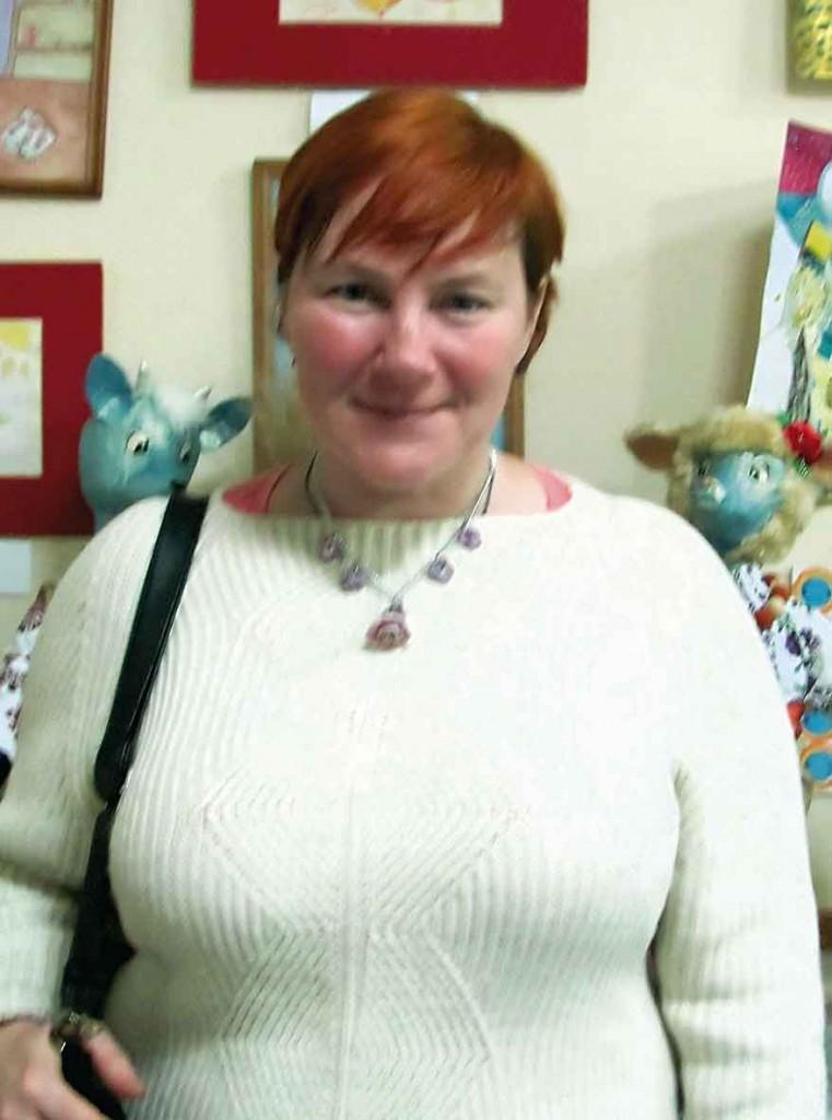 Учасниця Фестивалю-конкурсу літературного напрямку - Оксана Мороз.