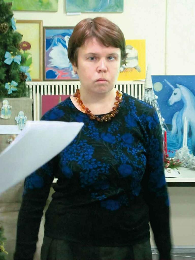 Учасниця Фестивалю-конкурсу літературного напрямку - Світлана Проніна.