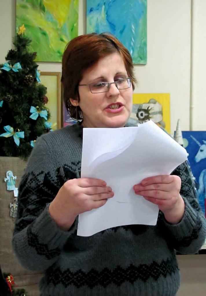 Учасниця Фестивалю-конкурсу літературного напрямку - Cвітлана Шевченко.