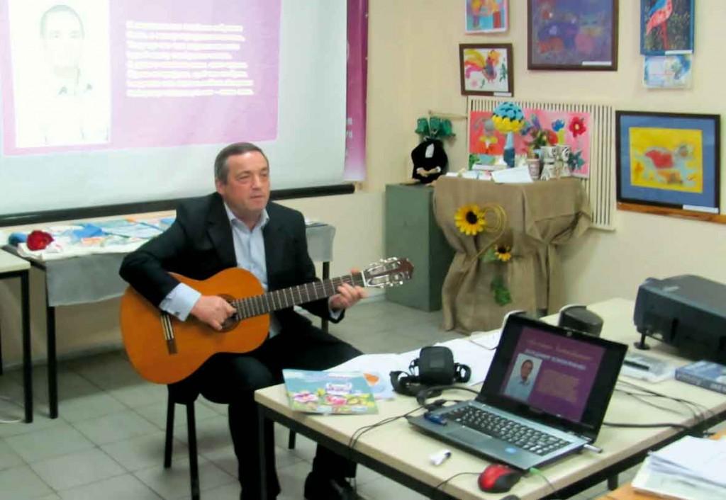 Учасник Фестивалю-конкурсу літературного напрямку — Володимир Кожем'яченко.