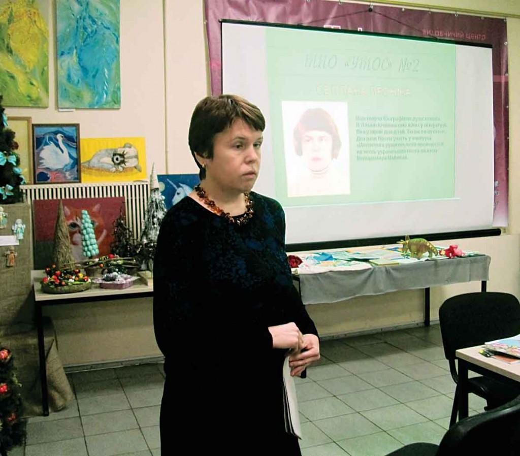 Учасниця Фестивалю-конкурсу літературного напрямку — Світлана Проніна.