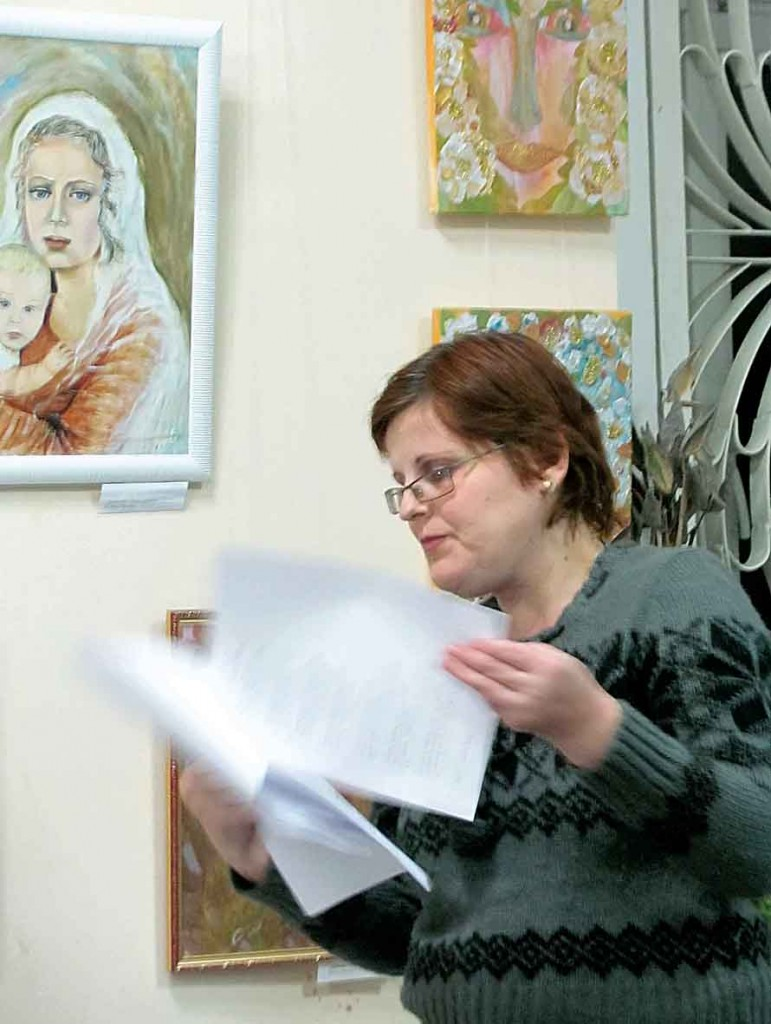 Учасниця Фестивалю-конкурсу літературного напрямку — Cвітлана Шевченко.