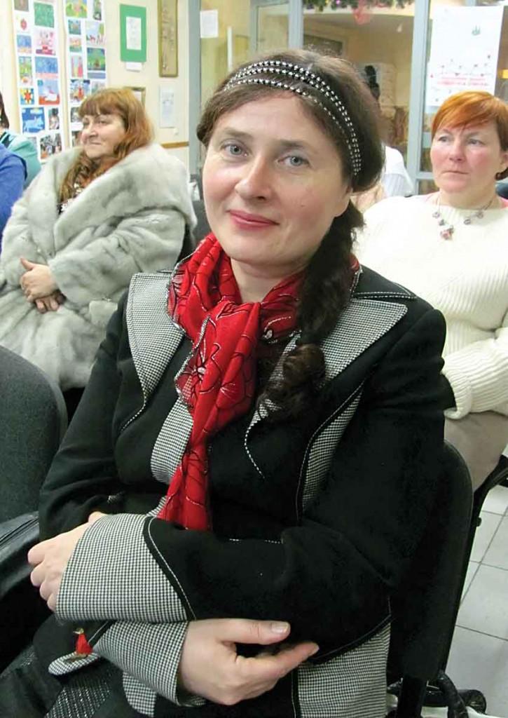 Учасниця Фестивалю-конкурсу літературного напрямку — Світлана Потера.