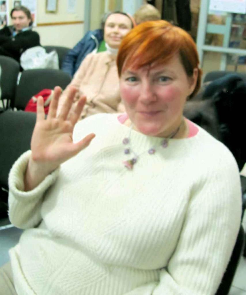 Учасниця Фестивалю-конкурсу літературного напрямку — Оксана Мороз.