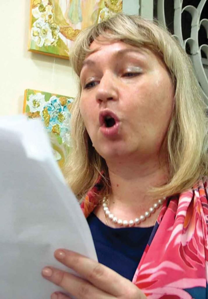 Учасниця Фестивалю-конкурсу літературного напрямку — Іванна Братусь.