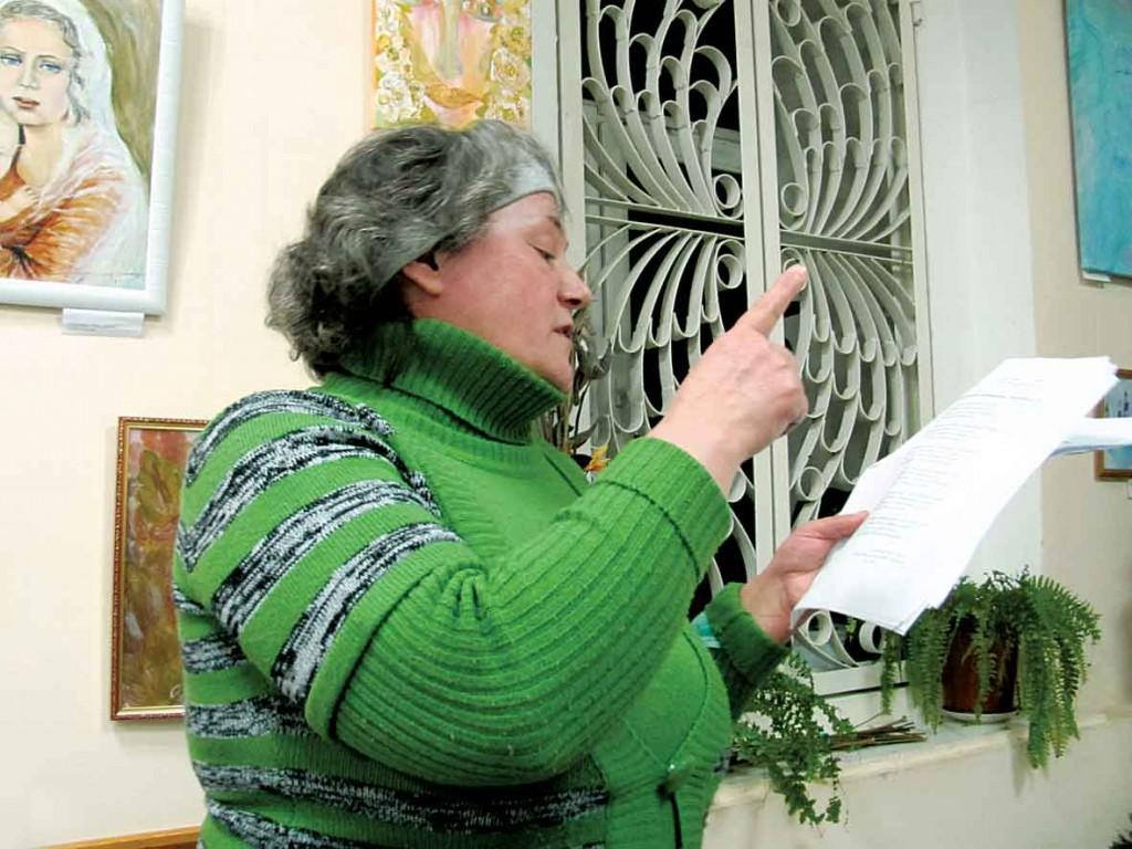 Учасниця Фестивалю-конкурсу літературного напрямку — Галина Бреус.