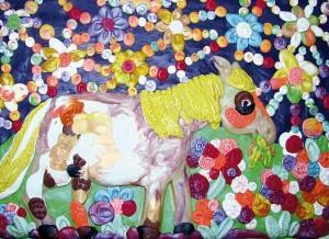 25) «Конячка під зорями», ліплення з пластиліну