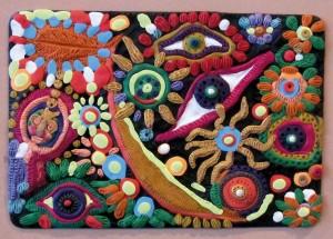 27) «Очі Бога», ліплення з пластиліну