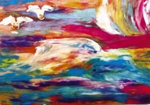 9) «Радість дельфінів», ліплення з пластиліну.