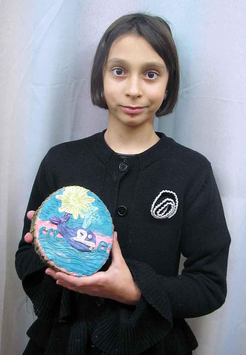 Блакитний кит. Хлєьнікова Маргарита, 10 років.